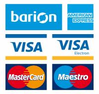 A kényelmes és biztonságos online fizetést a Barion Payment Zrt. biztosítja, MNB engedély száma: H-EN-I-1064/2013